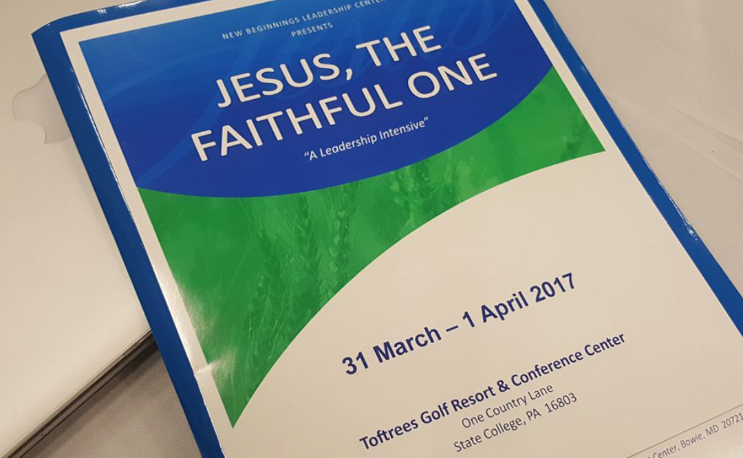 Jesus, The Faithful One Seminar Gallery & Video